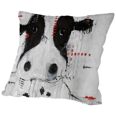 Charlotte Throw Pillow Size: 18 H x 18 W x 2 D