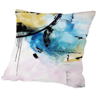 Crazy 12 Throw Pillow Size: 16