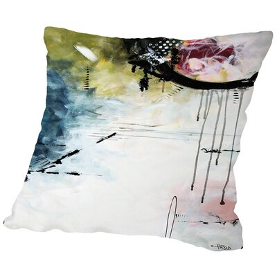 Crazy 13 Throw Pillow Size: 16 H x 16 W x 2 D