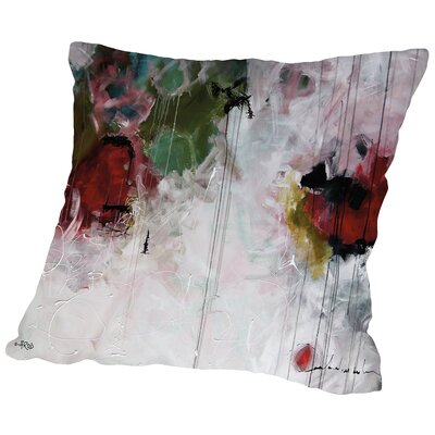 Eruptus Throw Pillow Size: 14 H x 14 W x 2 D