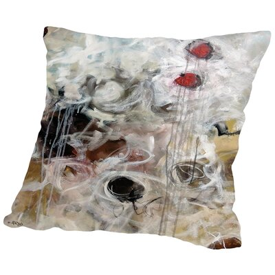 Eruptus 1.2 Throw Pillow Size: 18 H x 18 W x 2 D