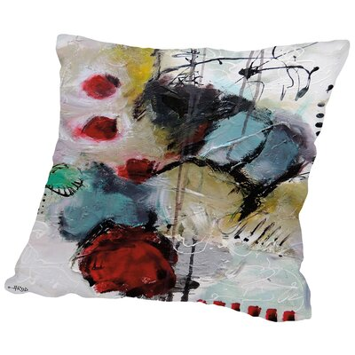 Eruptus 3381 Throw Pillow Size: 14 H x 14 W x 2 D
