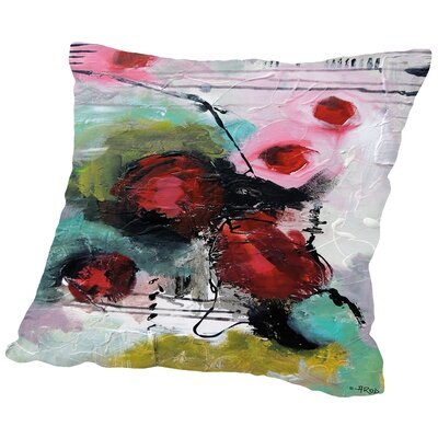 Eruptus 3383 Throw Pillow Size: 14 H x 14 W x 2 D