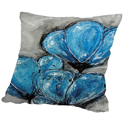 Forever Throw Pillow Size: 18 H x 18 W x 2 D