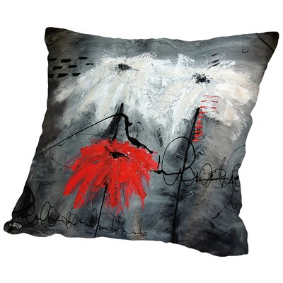 Jaousie Throw Pillow Size: 18 H x 18 W x 2 D
