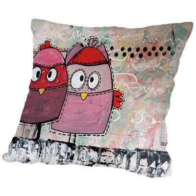 Kidz 21 Throw Pillow Size: 18 H x 18 W x 2 D
