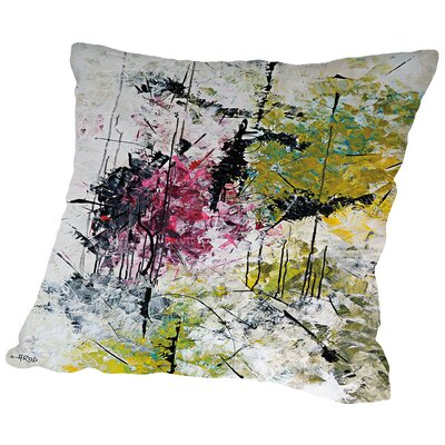 Magn Tik De La Foret Enchante Throw Pillow Size: 18 H x 18 W x 2 D