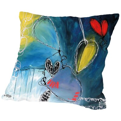 Motus 4 Throw Pillow Size: 16 H x 16 W x 2 D