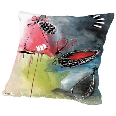 Motus 5 Throw Pillow Size: 18 H x 18 W x 2 D