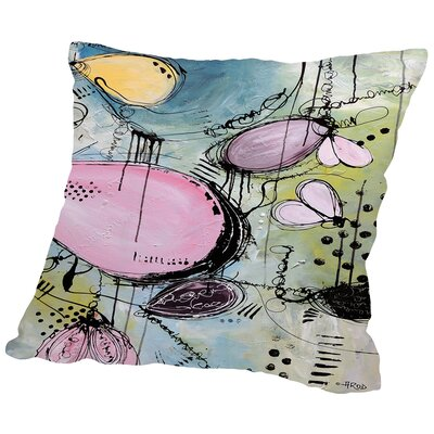 Motus 107 Throw Pillow Size: 16 H x 16 W x 2 D