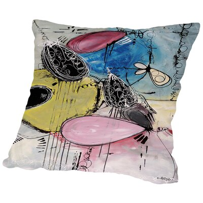 Motus 109 Throw Pillow Size: 18 H x 18 W x 2 D