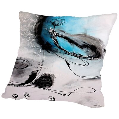 Motus De Lombre Throw Pillow Size: 14 H x 14 W x 2 D