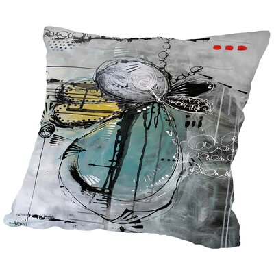Motus De Poussiere Throw Pillow Size: 18 H x 18 W x 2 D