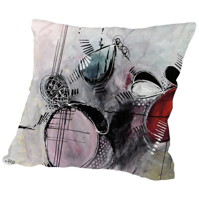 Motus Eph Mitre Throw Pillow Size: 18 H x 18 W x 2 D