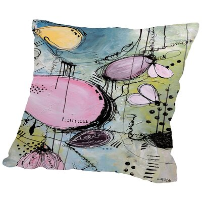 Motus Pop Throw Pillow Size: 18 H x 18 W x 2 D