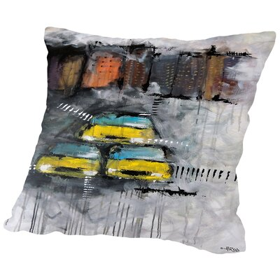 Urbanit 3466 Throw Pillow Size: 18 H x 18 W x 2 D