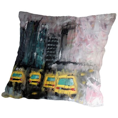 Urbanit De Marie Throw Pillow Size: 18 H x 18 W x 2 D