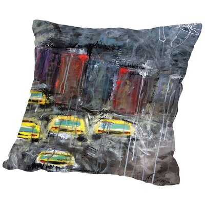 Urbanite 9 Throw Pillow Size: 14 H x 14 W x 2 D