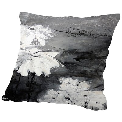 Little Flowers Throw Pillow Size: 14 H x 14 W x 2 D