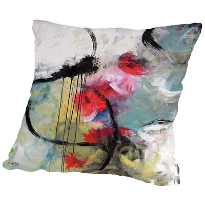 Crazy I Throw Pillow Size: 14 H x 14 W x 2 D