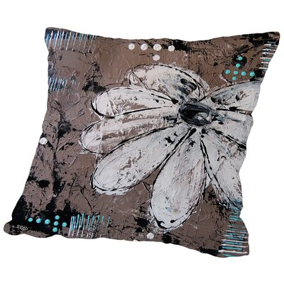 Fleur CraMe Throw Pillow Size: 14