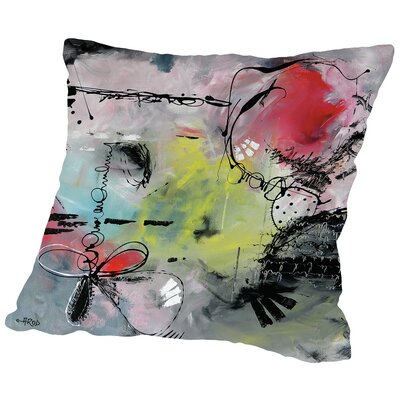 Motus 9 Throw Pillow Size: 18 H x 18 W x 2 D
