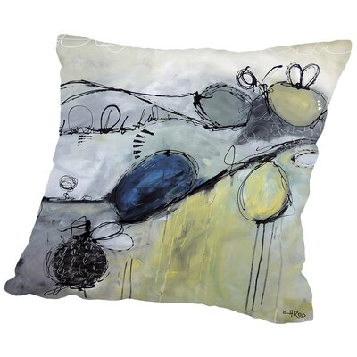 Motus 101 (1) Throw Pillow Size: 16