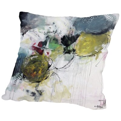 Motus Aux Citrons Throw Pillow Size: 14 H x 14 W x 2 D