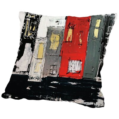 Urbanit 22 Throw Pillow Size: 14 H x 14 W x 2 D