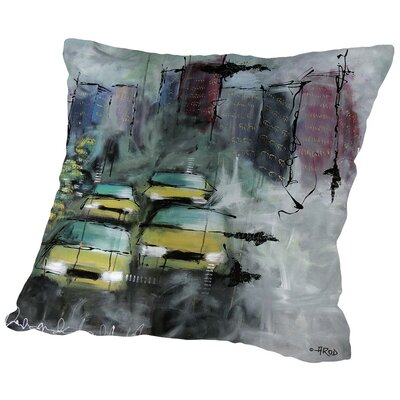 Urbanit-E 5 Throw Pillow Size: 14 H x 14 W x 2 D