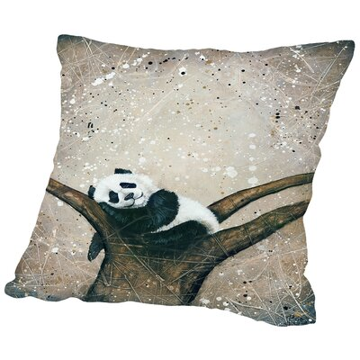 Naptime Throw Pillow Size: 18 H x 18 W x 2 D
