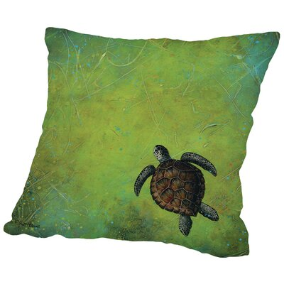 Slow and Steady Throw Pillow Size: 18 H x 18 W x 2 D