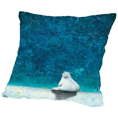 Wishing on Stars Throw Pillow Size: 14 H x 14 W x 2 D