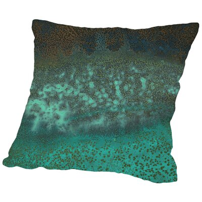 Caribbean - Square Throw Pillow Size: 14 H x 14 W x 2 D
