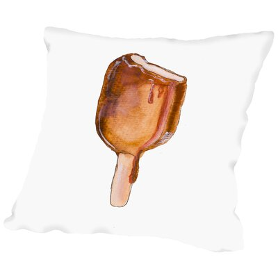 Choc Ice Throw Pillow Size: 18 H x 18 W x 2 D
