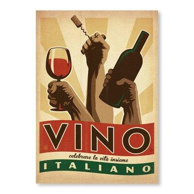 Vino Italiano Vintage Advertisement A40P068P0810