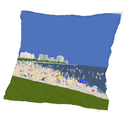 Labor Day 3 Outdoor Throw Pillow Size: 18 H x 18 W x 2 D