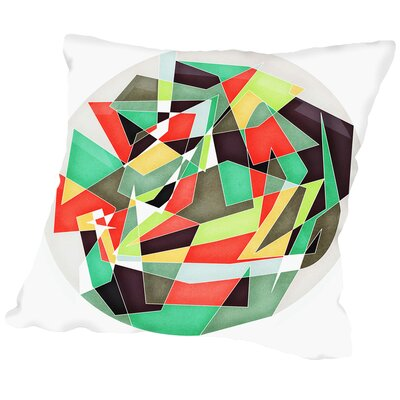 Different Theory Outdoor Throw Pillow Size: 18 H x 18 W x 2 D