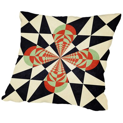 Misconceptions Of The Courageous Mind Outdoor Throw Pillow Size: 18 H x 18 W x 2 D