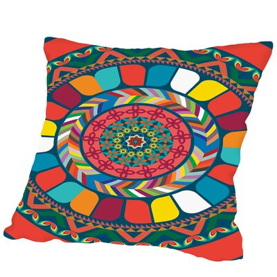 Pattern Outdoor Throw Pillow Size: 18 H x 18 W x 2 D