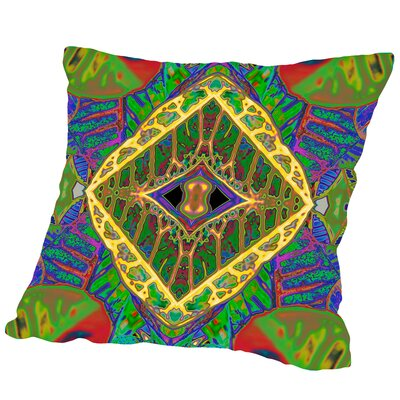 Croton Shield2 Square Outdoor Throw Pillow Size: 18 H x 18 W x 2 D