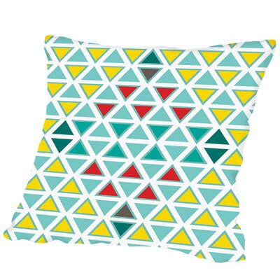 Traingle Multi Outdoor Throw Pillow Size: 16 H x 16 W x 2 D