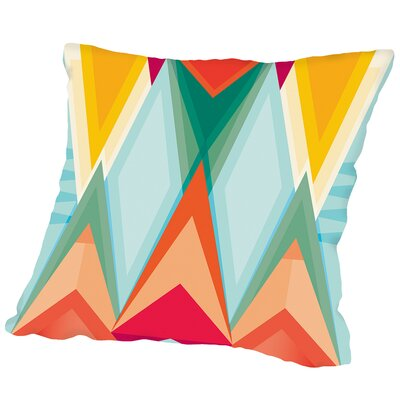 Pattern8 Outdoor Throw Pillow Size: 16 H x 16 W x 2 D