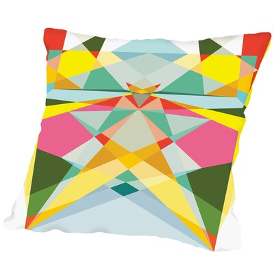 Geometric Multi 1 Outdoor Throw Pillow Size: 16 H x 16 W x 2 D