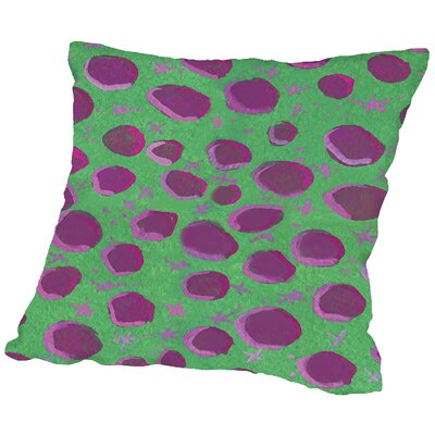 Dino Throw Pillow Size: 18 H x 18 W x 2 D