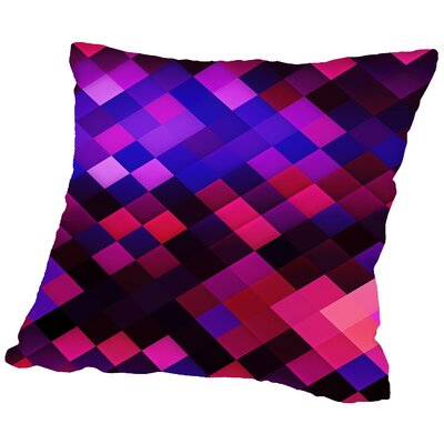 Colors of Pattern Throw Pillow Size: 18 H x 18 W x 2 D