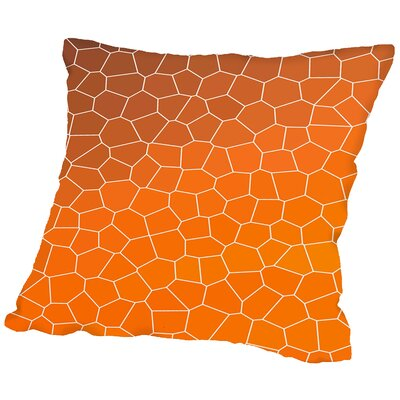 Mosaic Throw Pillow Size: 14 H x 14 W x 2 D