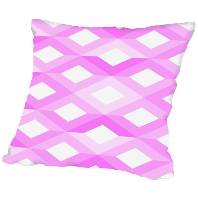 Geometric Throw Pillow Size: 16 H x 16 W x 2 D