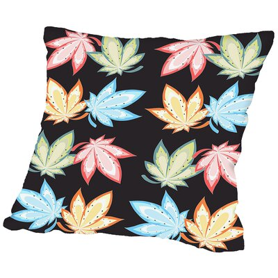Leaf Nature Throw Pillow Size: 16 H x 16 W x 2 D
