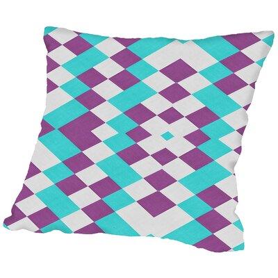 Texture Throw Pillow Size: 16 H x 16 W x 2 D